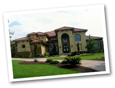Custom home in Lago Vista